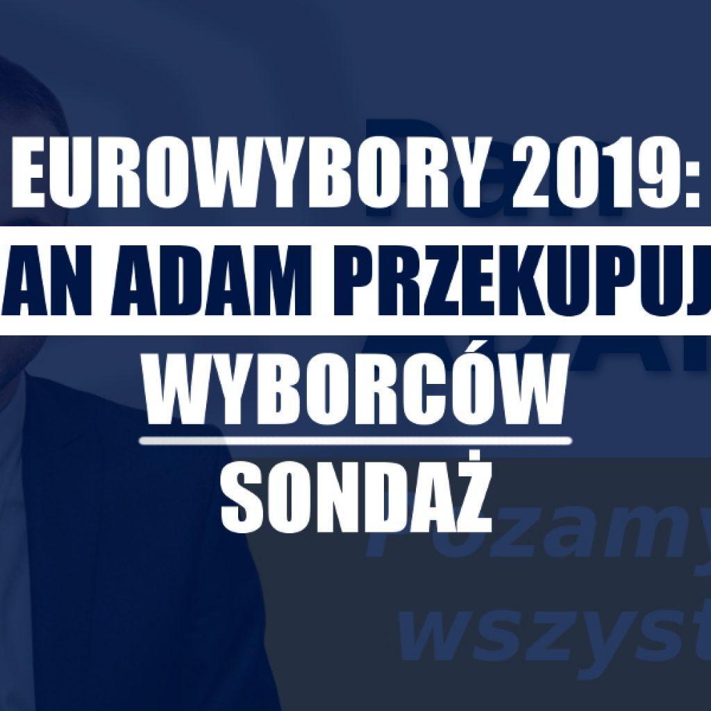 wybory do parlamentu europejskiego 2019 pan adam