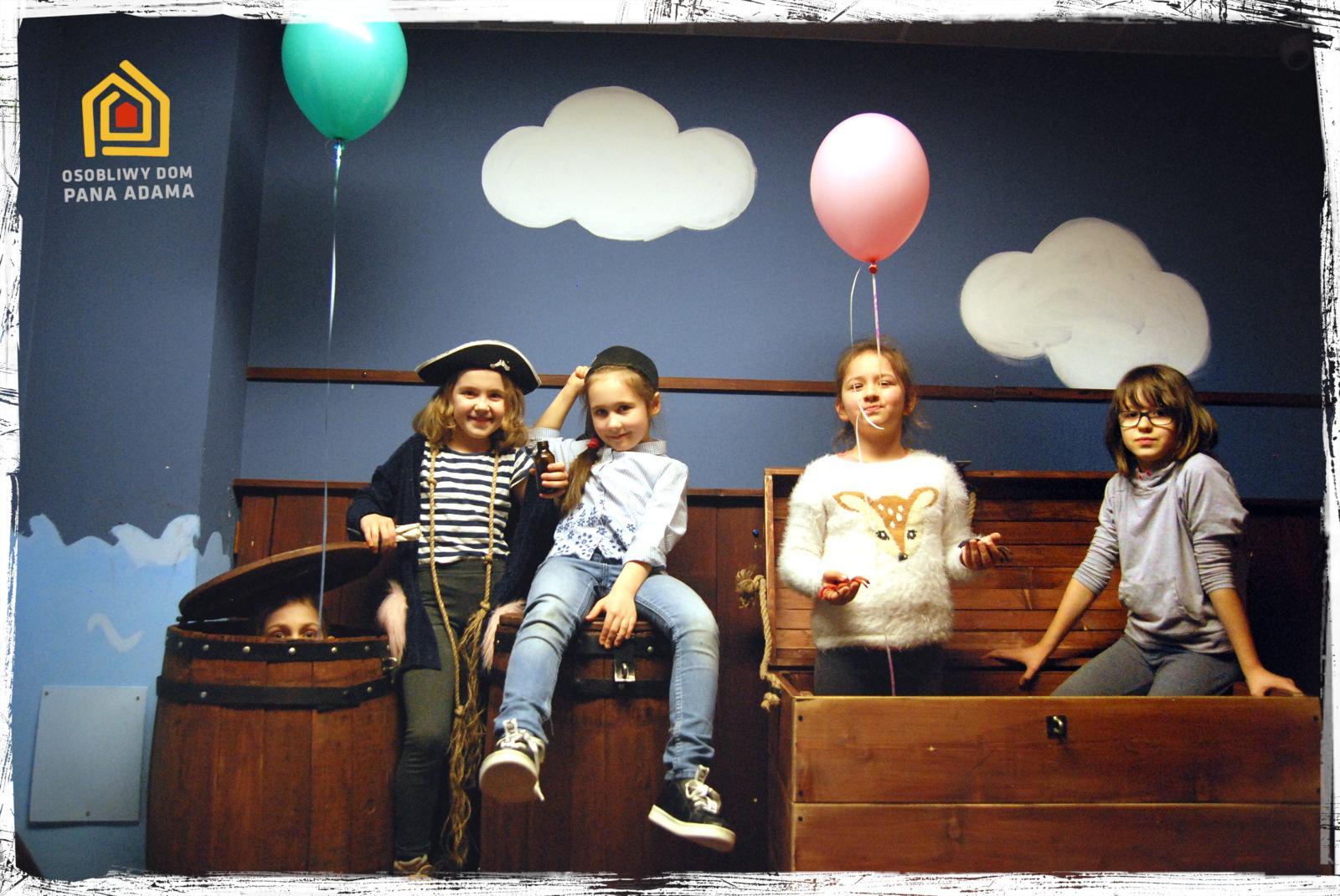 urodziny dla dzieci białysotk escape room